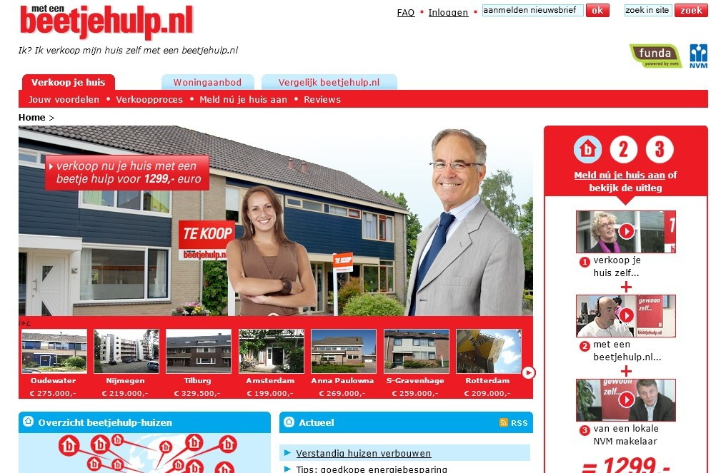 Portal Beetjehulp.nl door online marketing bureau AtMost