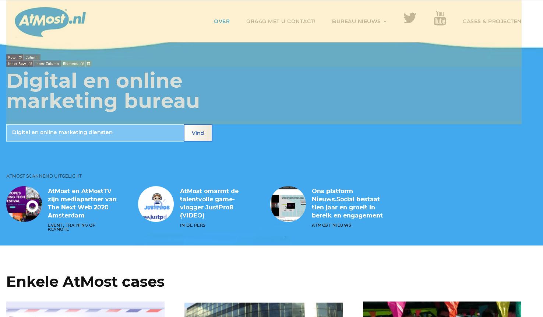 [Inspiratie] 2021? Nieuwe bedrijfswebsite AtMost wordt een leerzaam contentplatform! #reset
