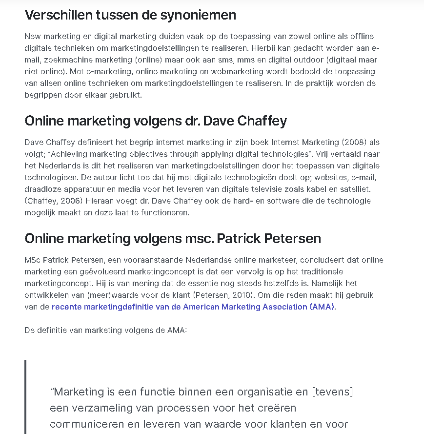 Experts Handboek Online Marketing bureau AtMost