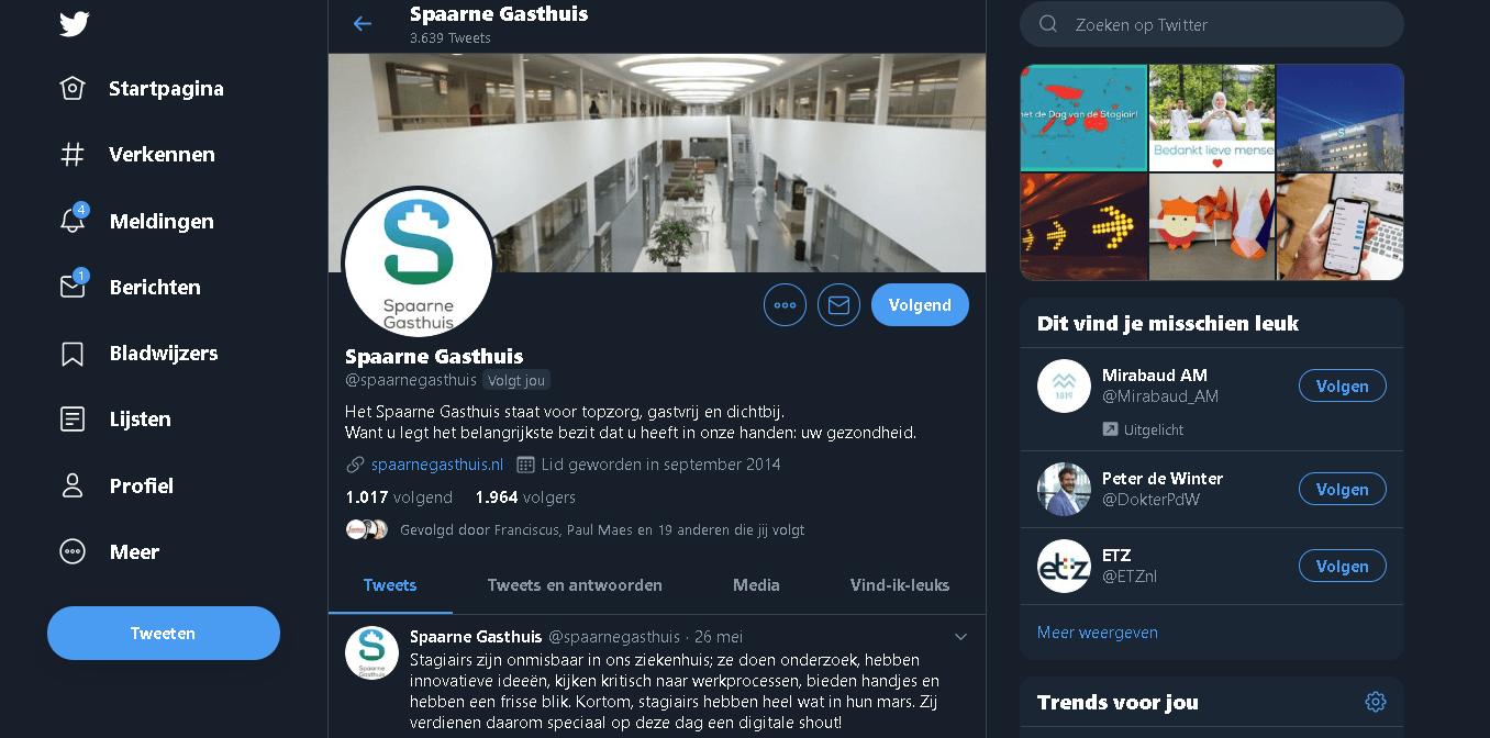 Spaarne Gasthuis Amsterdam: Social media (care) strategie en contentstrategie voor de engaging zorg